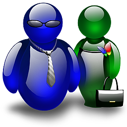 две фигуры человека
