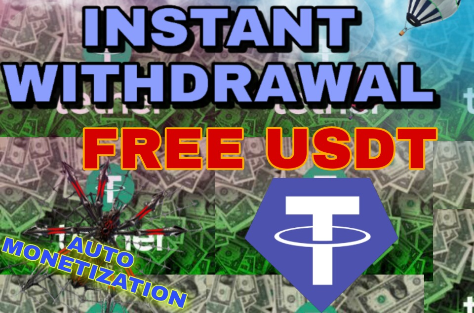 Free Tether USDT ABC CRYPTS AUTO MONETIZATION
