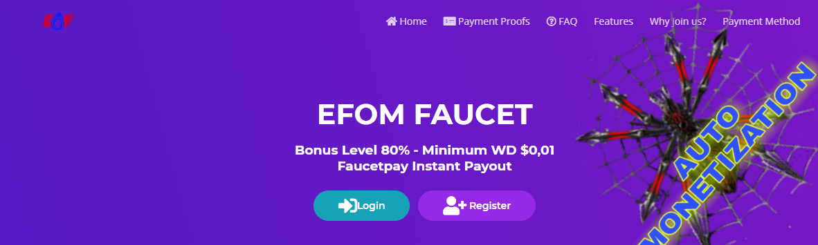 EFOМCC earnings cryptocurrency AUTOMONETIZATION