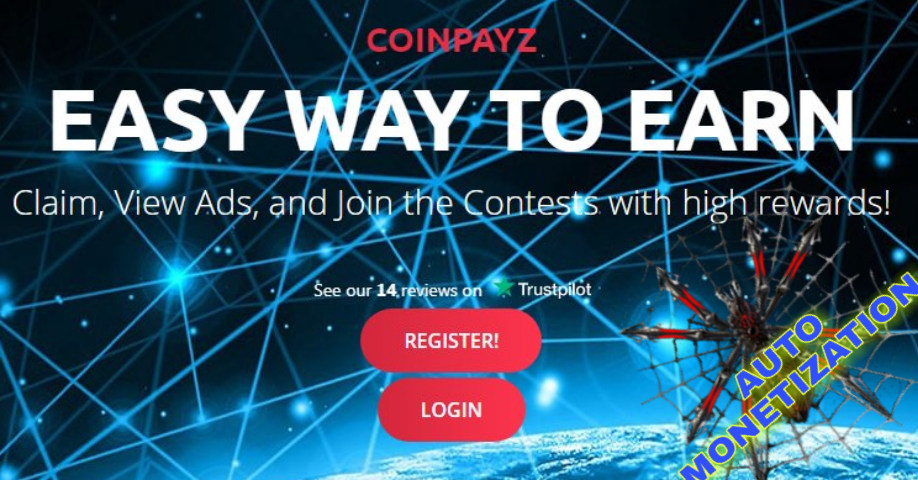 CoinPayz multi-currency platform earnings cryptocurrency AUTOMONETATION