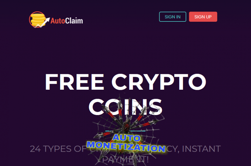 AUTOCLAIMIN earnings cryptocurrency AUTOMONETATION